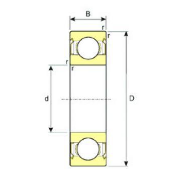 підшипник SS 61901-ZZ ISB
