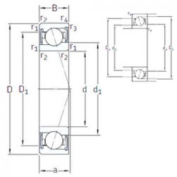 підшипник VEB 85 /S/NS 7CE1 SNFA