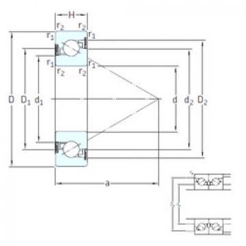 підшипник BS 55/120 /S 7P62U SNFA