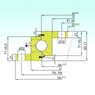 підшипник NBL.30.1455.200-1PPN ISB