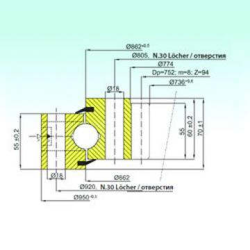 підшипник ZB1.25.0862.200-1SPPN ISB